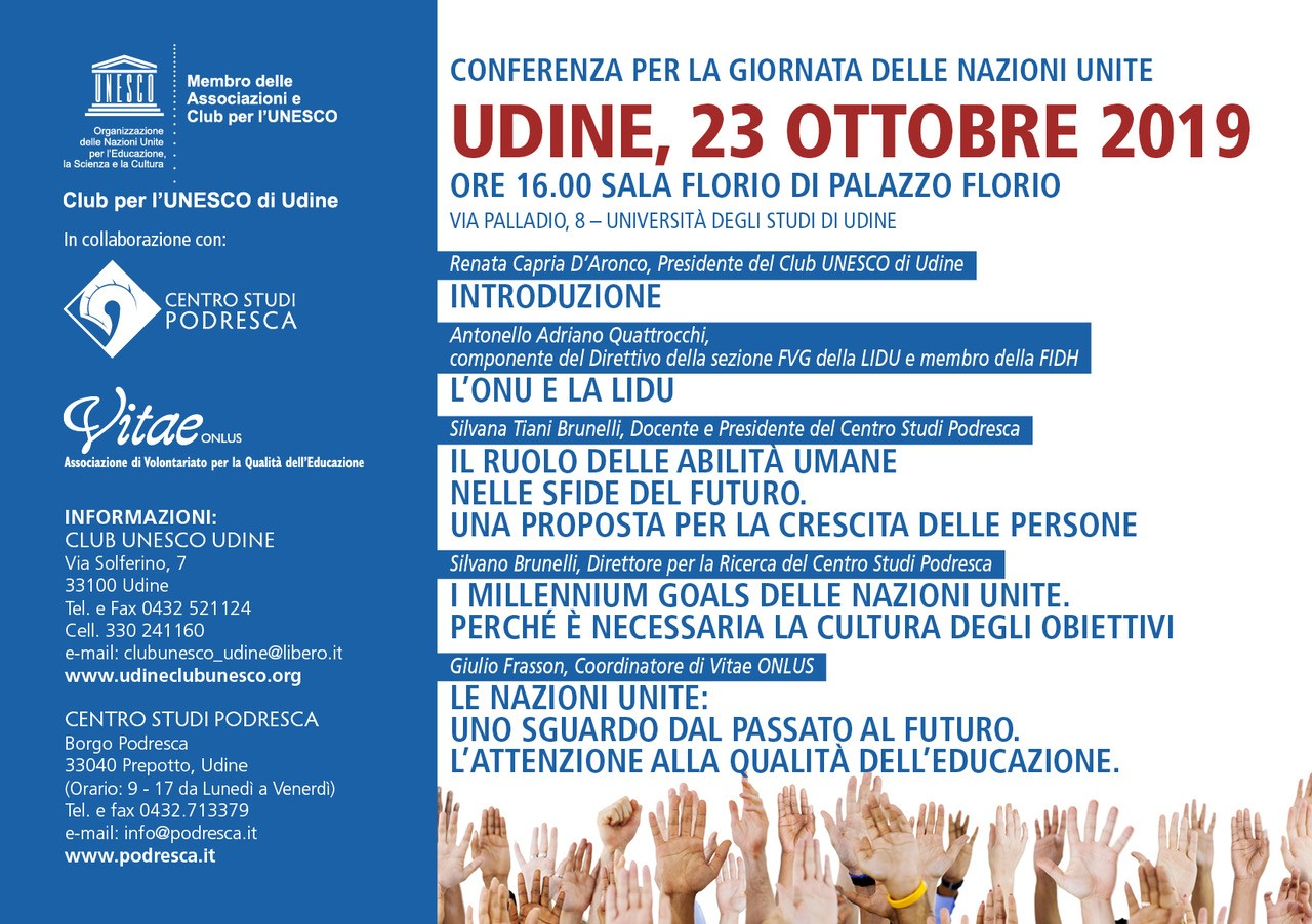 conferenza UNESCO 23-10-19